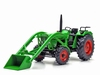 Weise-Toys - Deutz D 52 06 A with Frontloader  1 32
